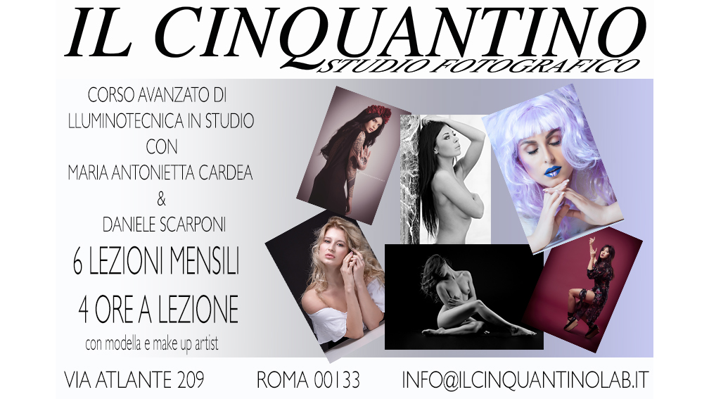 LOCANDINA CORSO ILLUMINOTECNICA 16-9